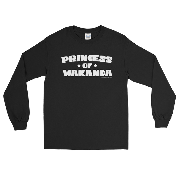 "Adorned By Chi S ""Princess of Wakanda"" Unisex Long Sleeve T-Shirt"