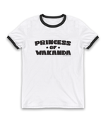 """Princess of Wakanda"" Unisex Ringer T-Shirt"