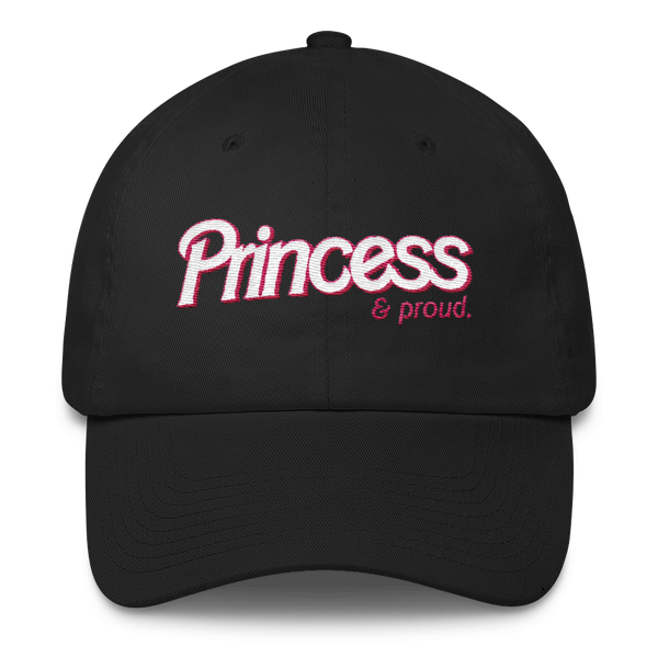 "Adorned By Chi Default Title ""Princess & Proud"" Dad hat"