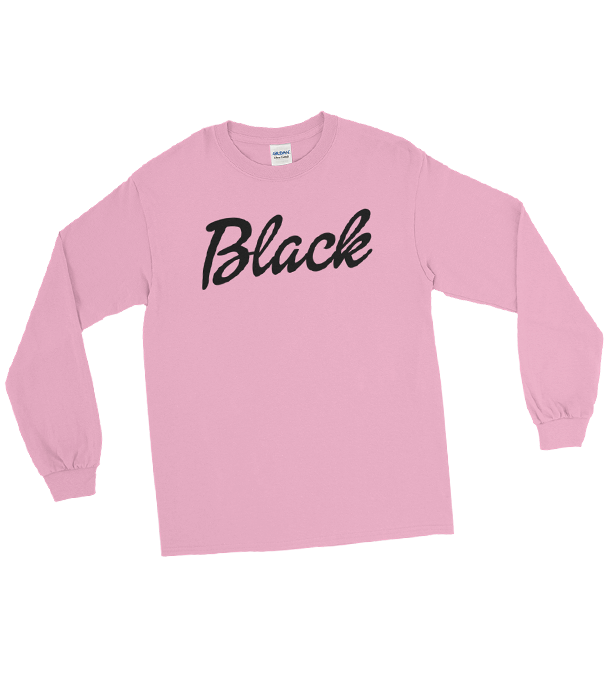 "Adorned By Chi Retro ""Black"" Unisex Long Sleeve T-Shirt"