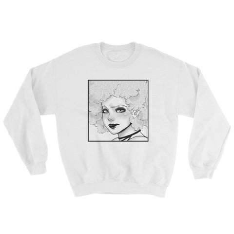 "Adorned By Chi S ""Serious Kelechi"" Manga Unisex Sweatshirt"