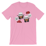 "Adorned By Chi ""Tuxedo Mask Off"" One Sided Unisex short sleeve t-shirt (more colors)"