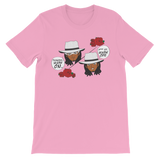 "Adorned By Chi Pink / S ""Tuxedo Mask Off"" One Sided Unisex short sleeve t-shirt (more colors)"