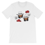 "Adorned By Chi White / S ""Tuxedo Mask Off"" One Sided Unisex short sleeve t-shirt (more colors)"