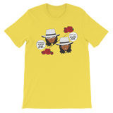 "Adorned By Chi Yellow / S ""Tuxedo Mask Off"" One Sided Unisex short sleeve t-shirt (more colors)"