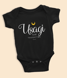 "Adorned By Chi ""Usagi Taught Me"" Infant Onesie"