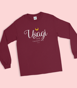 "Adorned By Chi ""Usagi Taught Me"" Long Sleeve Unisex T-Shirt"