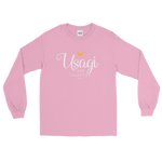 "Adorned By Chi Light Pink / S ""Usagi Taught Me"" Long Sleeve Unisex T-Shirt"