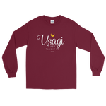"Adorned By Chi Maroon / S ""Usagi Taught Me"" Long Sleeve Unisex T-Shirt"