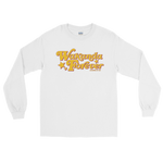 "Adorned By Chi White / S ""Wakanda Forever!"" Unisex Long Sleeve T-Shirt (more colors)"