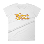 "Adorned By Chi White / S ""Wakanda Forever"" Women's short sleeve t-shirt"