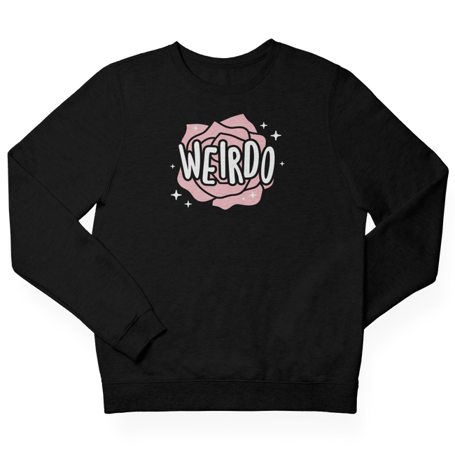 Adorned by Chi Weirdo Unisex Crewneck Sweatshirt
