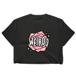 Weirdo Unisex Crop T-Shirt
