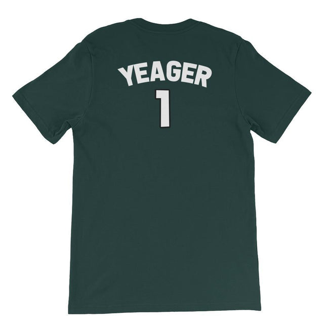 "Adorned By Chi ""Yeager Survey Corps Team Jersey"" Short-Sleeve Unisex T-Shirt"