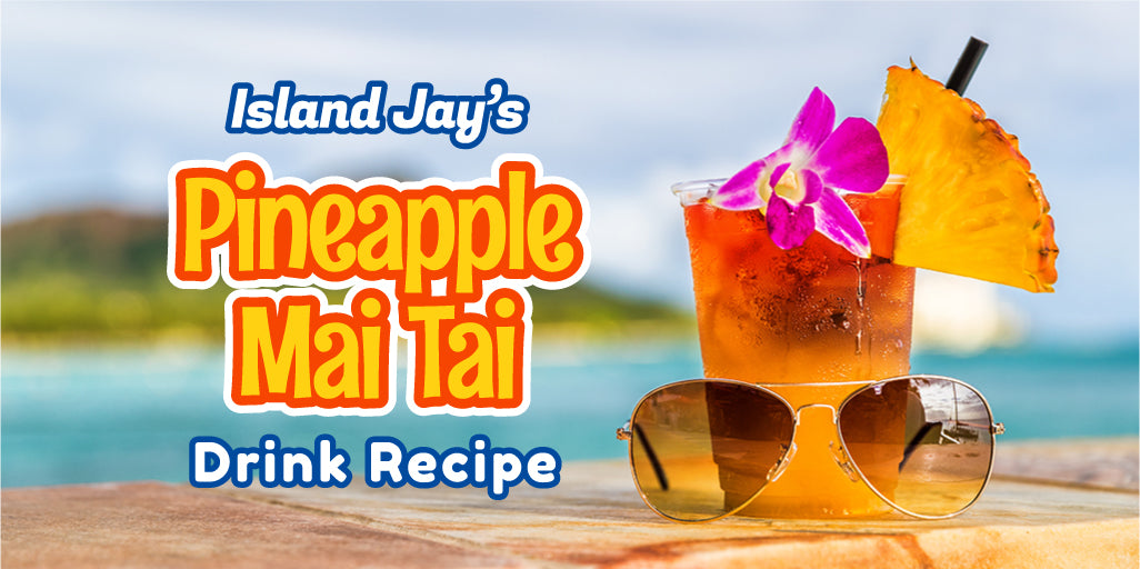 Island Jay's Pineapple Mai Tai Recipe (Video)
