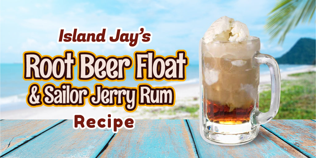 Root Beer Float & Sailor Jerry Rum Drink Recipe