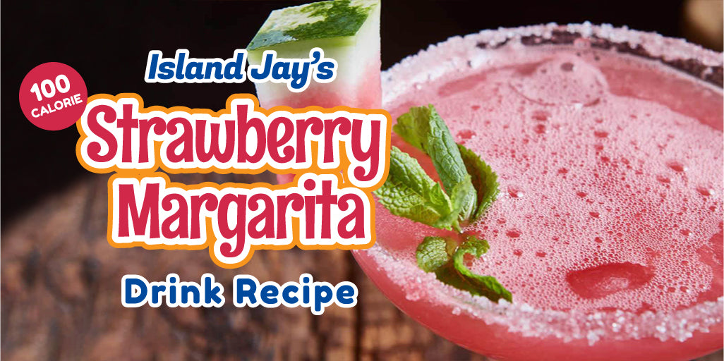 100 Calorie Strawberry Watermelon Margarita Recipe