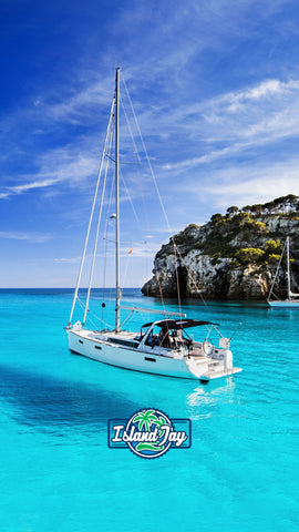 sailboat in Paradise