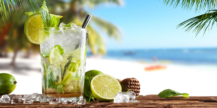 Island Jay Mojito made with Code Rum