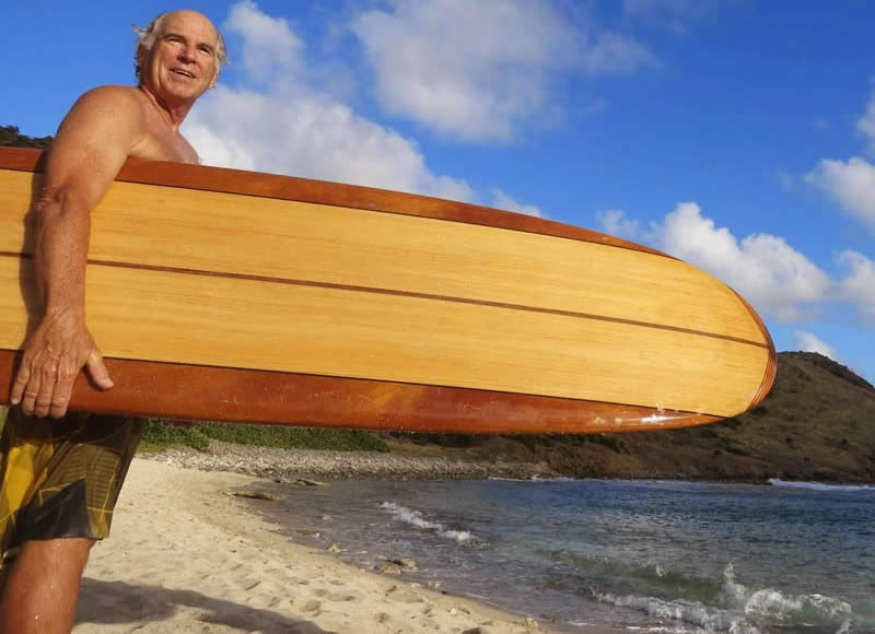 Jimmy Buffett Surfboard