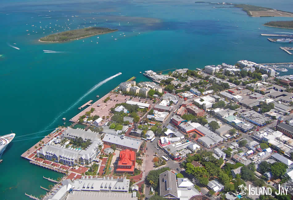 Arial Shot of Key West