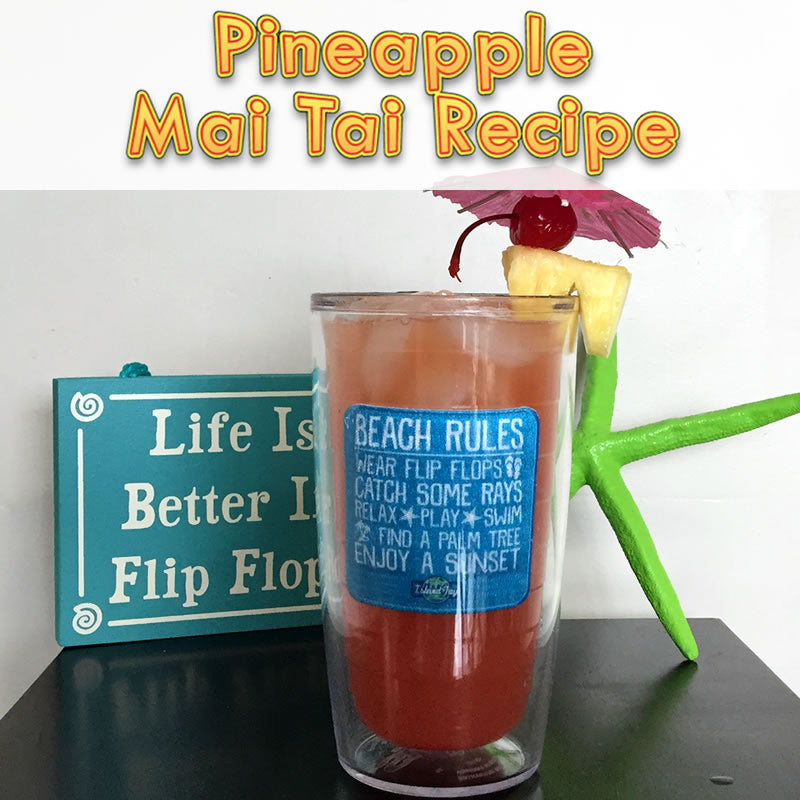 Island Jay's Pineapple Mai Tai Recipe