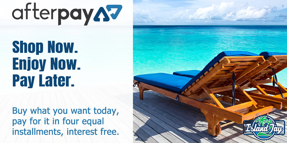Afterpay with Island Jay's Beach T-Shirts & Accessories
