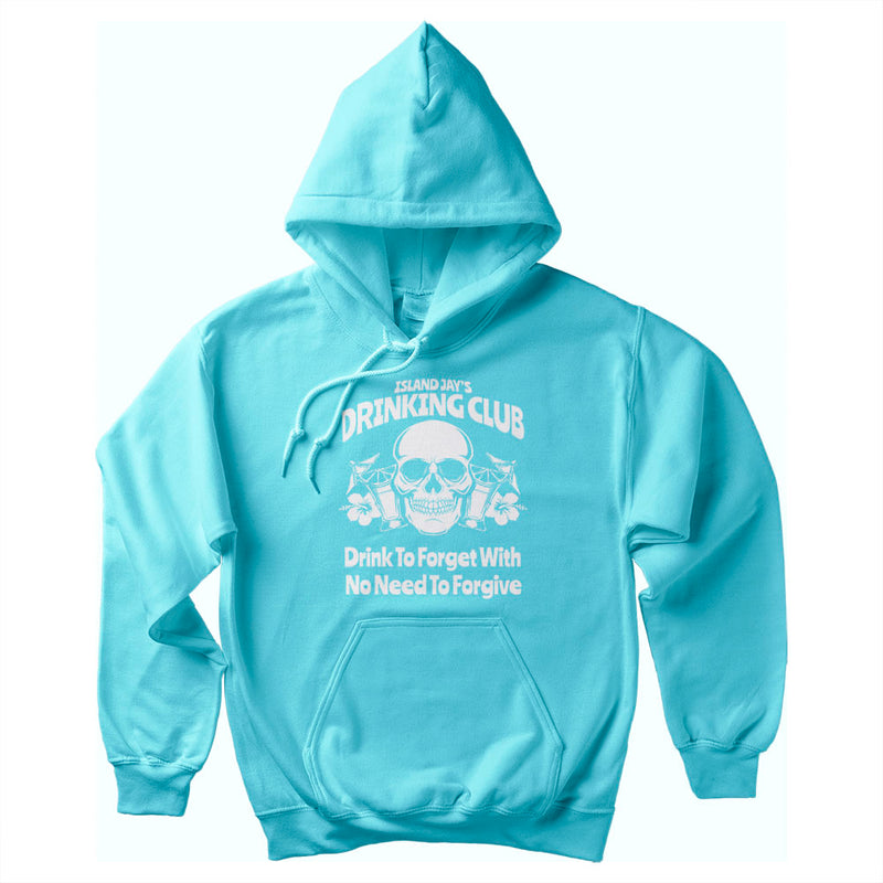 Island Jay's Drinking Club Soft Style Pullover Hoodie
