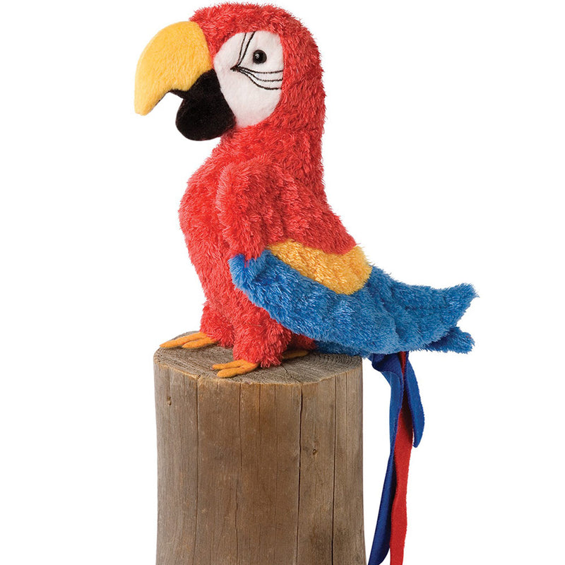 Gabby the Red Parrot Plush Toy