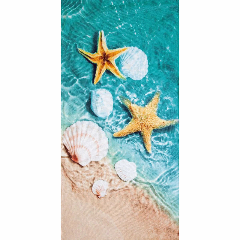 "Vacation Towel - 3D Shells 30"" x 60"""
