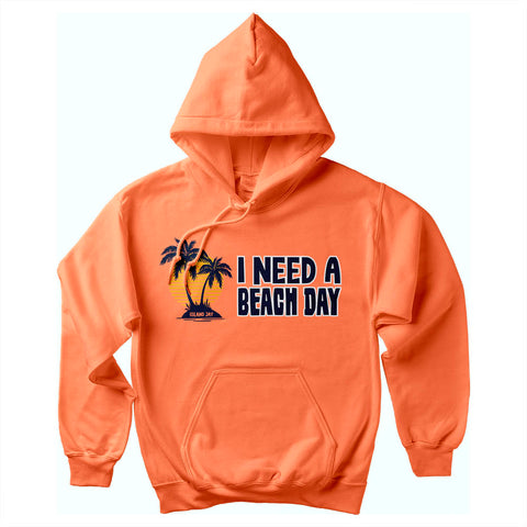 I Need a Beach Day Soft Style Pullover Hoodie