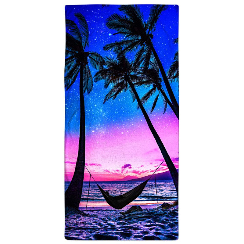 "Vacation Towel - Night Time Hammock 30"" x 60"""