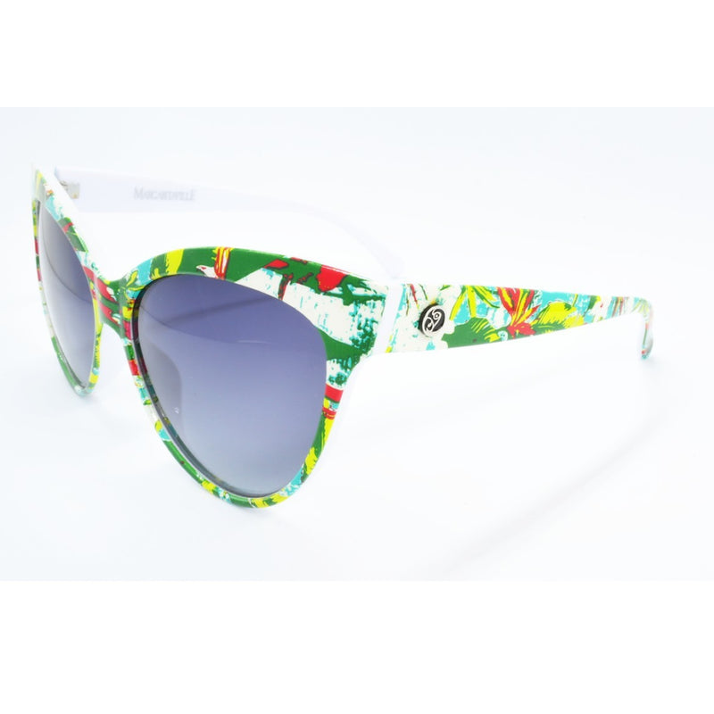 Margaritaville Polarized Sunglasses - Floral Frame & Smoke Lenses