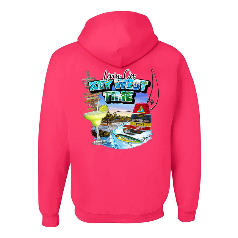 Livin On Key West Time Pullover Hoodie