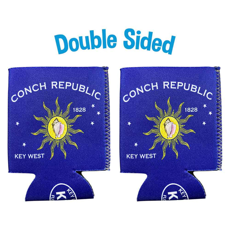 Conch Republic Neoprene Drink Can Cooler Sleeve