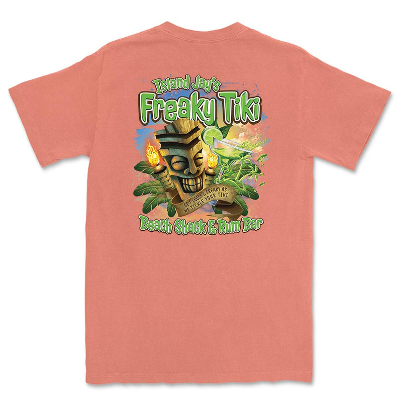 Island Jay's Freaky Tiki Beach Shack & Bar T-Shirt