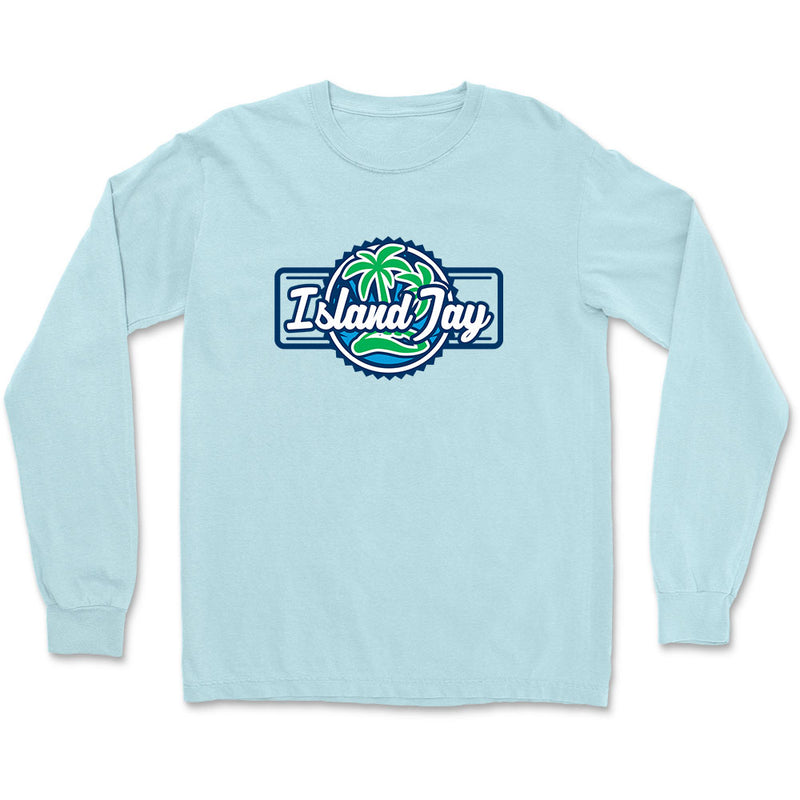 Island Jay Palm Tree Logo Long Sleeve T-Shirt