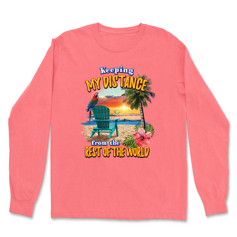 Keeping My Distance Long Sleeve T-Shirt