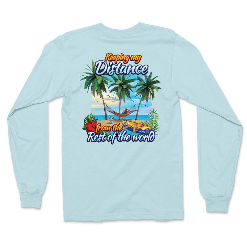 Keeping My Distance Island Escape Long Sleeve T-Shirt