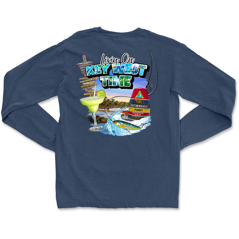 Livin On Key West Time Long Sleeve T-Shirt