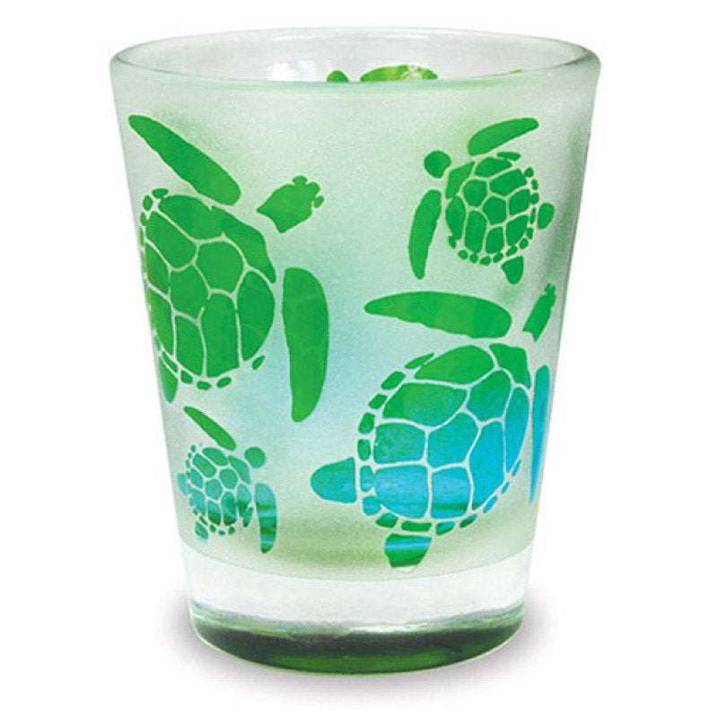 Cape Shore Frosted Turtle Shot Glass