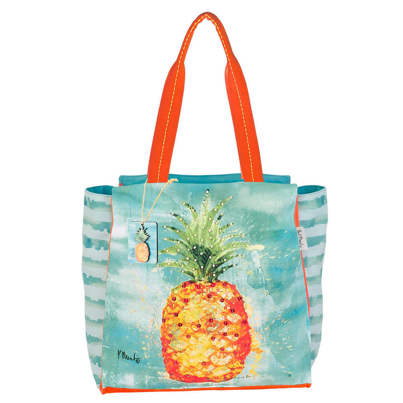 Arianna Pineapple Shoulder Tote Beach Bag