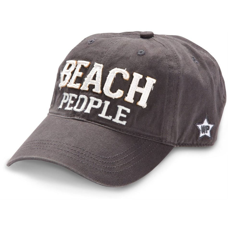 Beach People Dark Gray Adjustable Hat