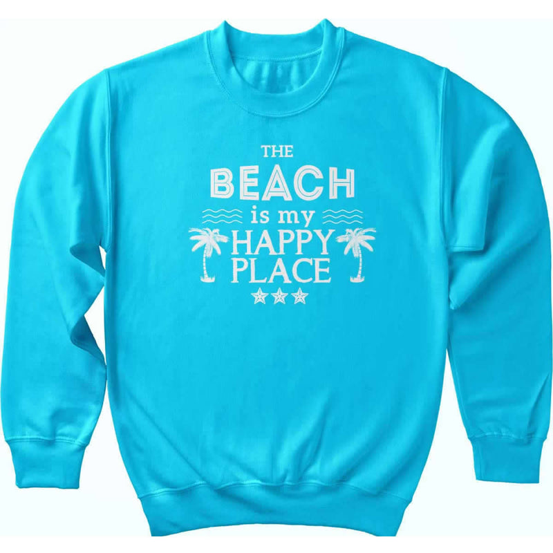 The Original Beach is my Happy Place Sweatshirt