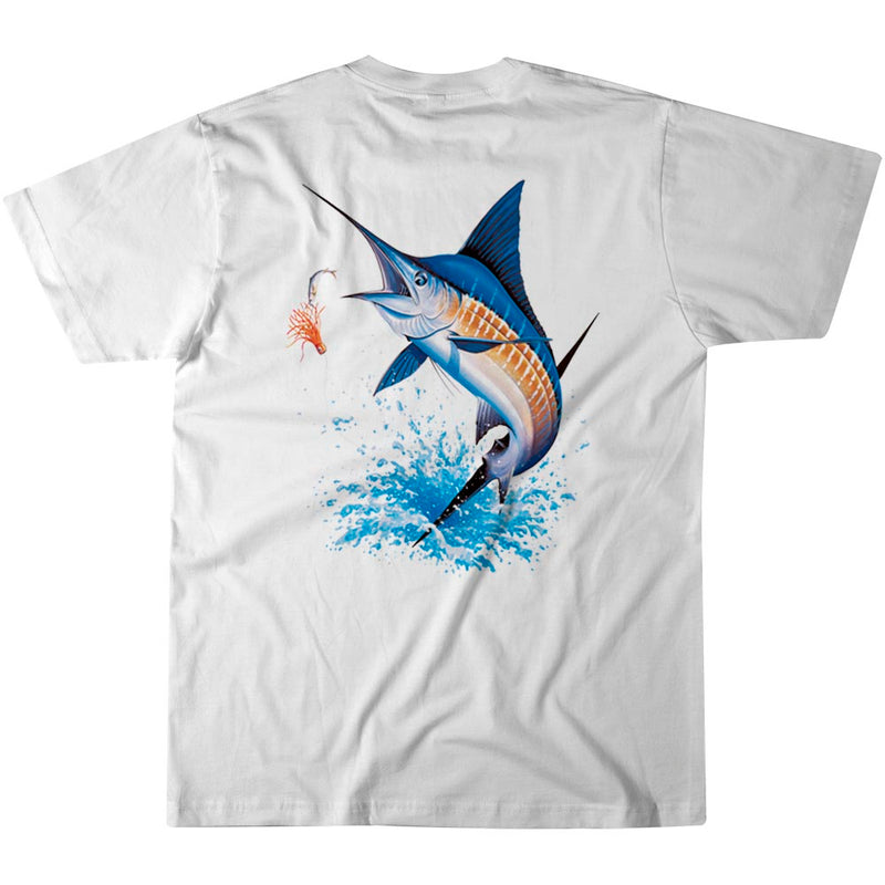 Islamorada Blue Marlin Jumping Fishing T-Shirt