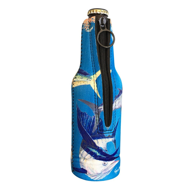 Bluewater Zippered Beer Bottle Cooler Sleeve