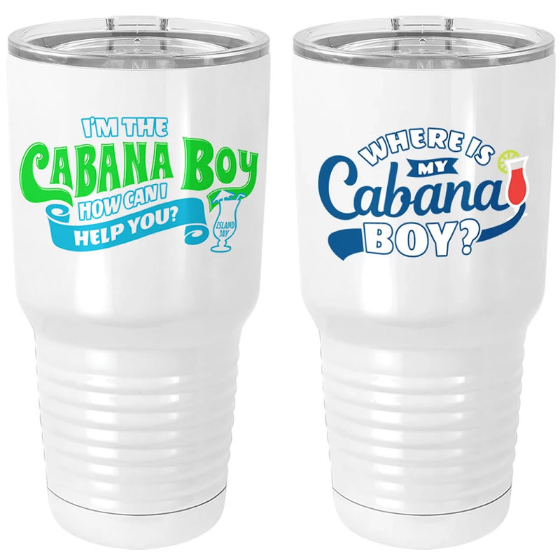 Tumbler Package Deal - I'm The Cabana Boy & Where Is My Cabana Boy