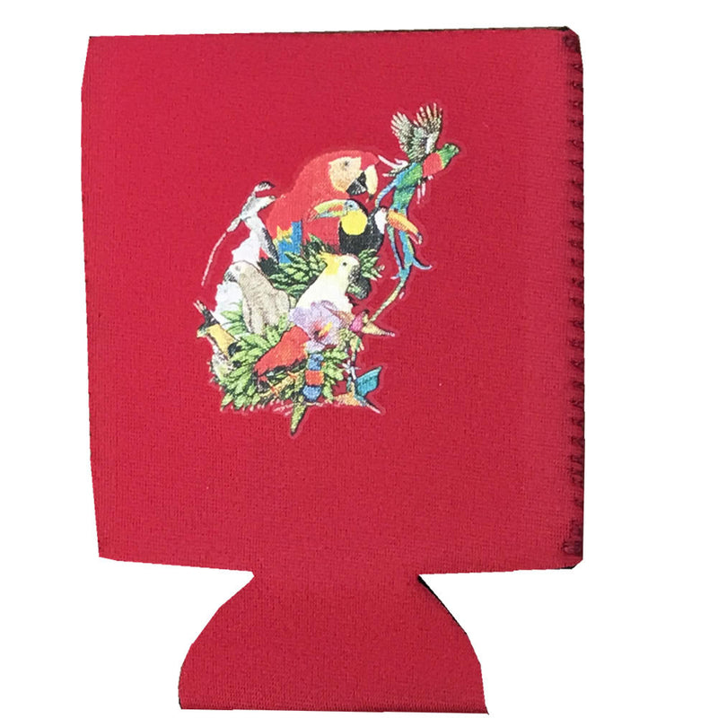 Parrots Neoprene Drink Cooler Sleeve