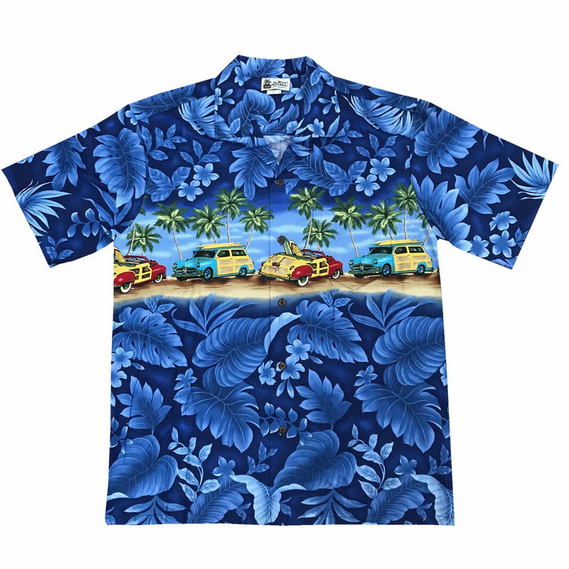 Cruzin' Woody Authentic Hawaiian Shirt