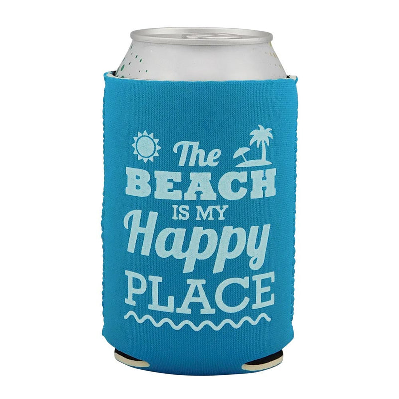 6 Pack Beach Themed Neoprene Drink Cooler Sleeve